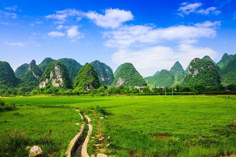 Foto de Ruta por Paisajes desde Shanghai a Hong Kong Paisaje de Guilin