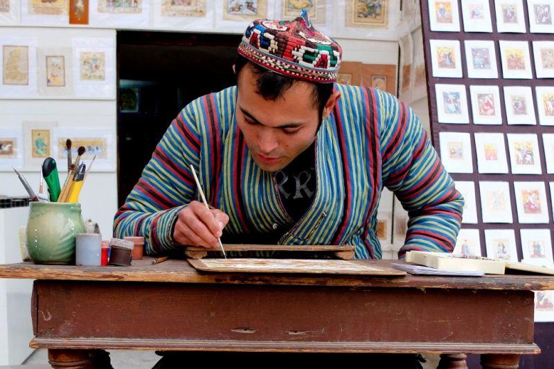 Foto de Ruta por Por tierras de Samarkanda arte en la calle