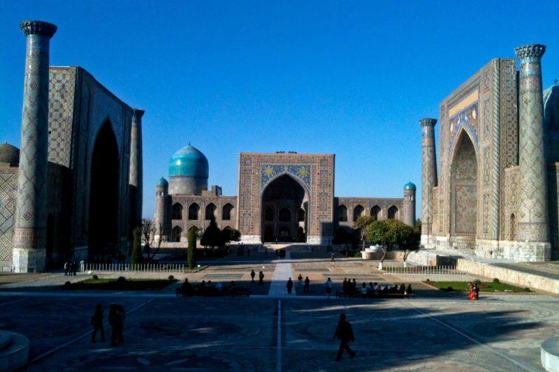 Foto de Ruta por Por tierras de Samarkanda mausoleos de Shah-I-Zinda