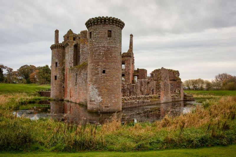 Foto de Ruta por Rumbo a las Highlands Castillo en ruinas