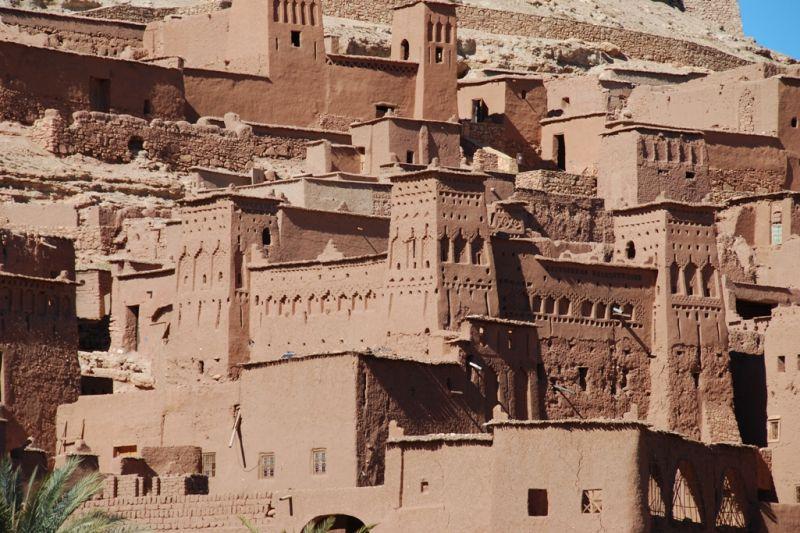 Foto de Ruta por Rumbo al desierto casas adobe