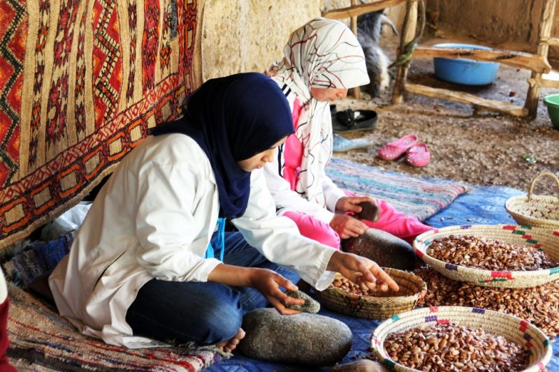 Foto de Ruta por Rumbo al desierto mujeres trabajando