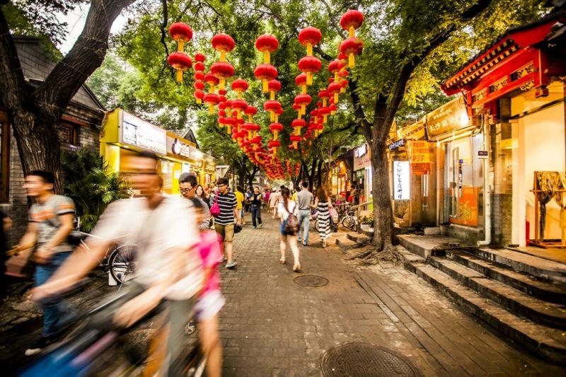 Foto de Ruta por Ruta de los Emperadores Calle central de Pekín