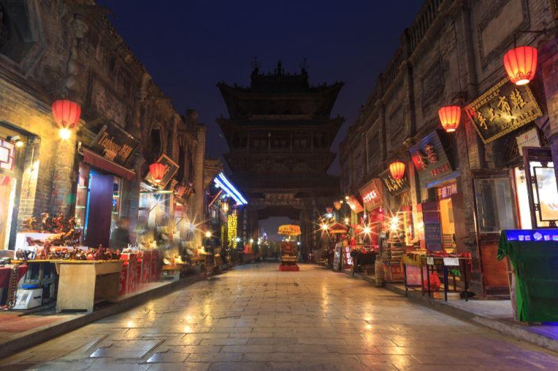 Foto de Ruta por Ruta de los Emperadores Calle de Pingyao