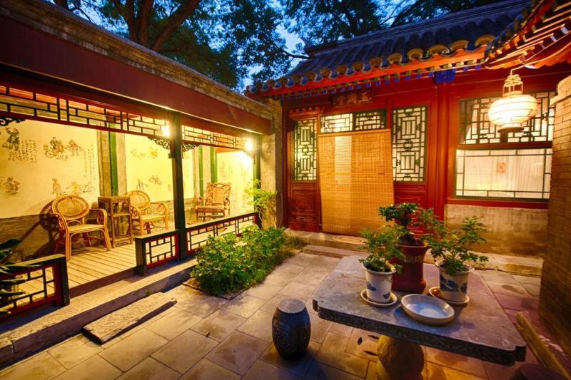 Foto de Ruta por Ruta de los Emperadores Patio de edificio de los hutongs