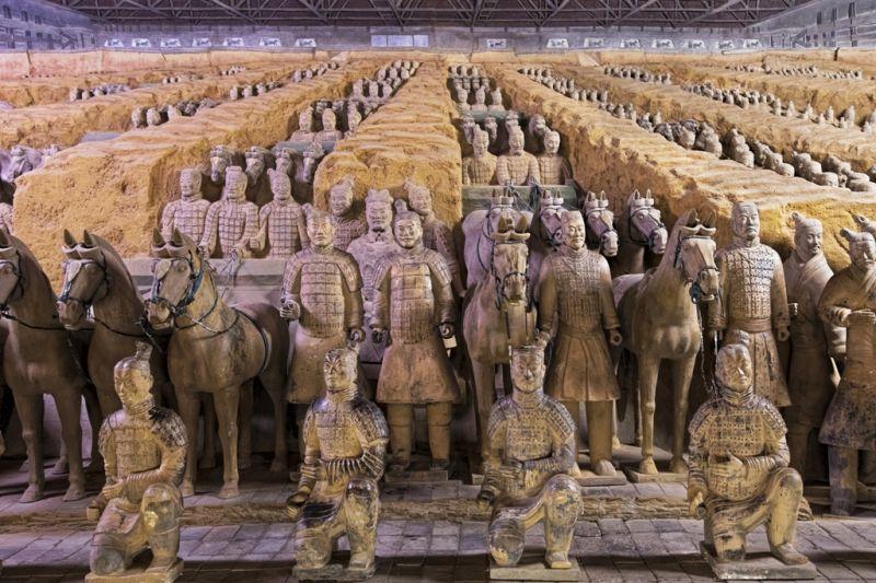 Foto de Ruta por Ruta de los Emperadores Soldados de Terracota