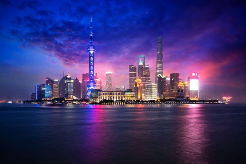 Foto de Ruta por Ruta de los Emperadores Vistas del barrio de Pudong en Shangai