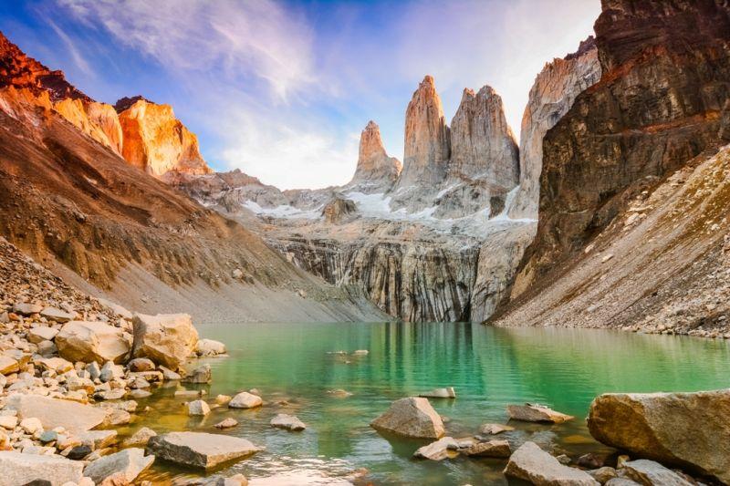 Foto de Ruta por Ruta Patagónica Amanecer frente a las Torres del Paine