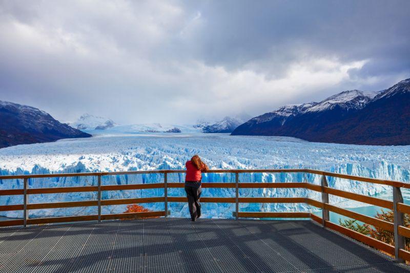 Foto de Ruta por Ruta Patagónica Contemplando el Glaciar Perito Moreno
