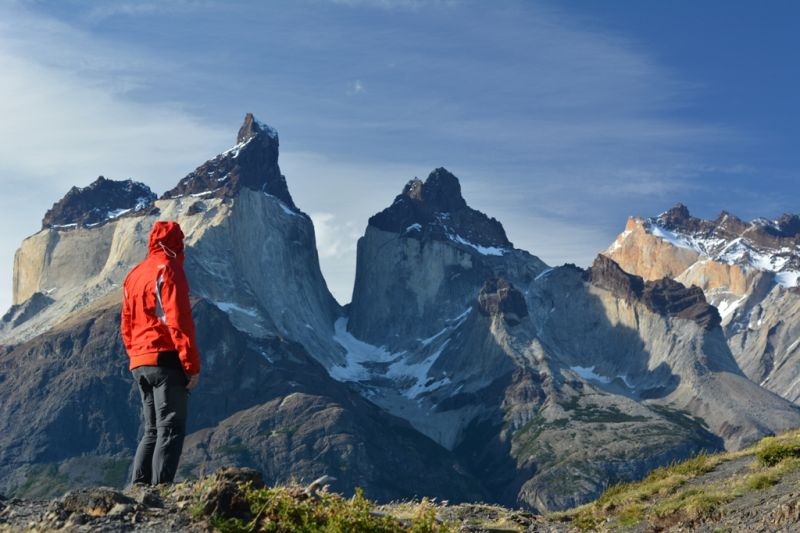 Foto de Ruta por Ruta Patagónica Contemplando los Cuernos del Diablo, parque de Torres del Paine