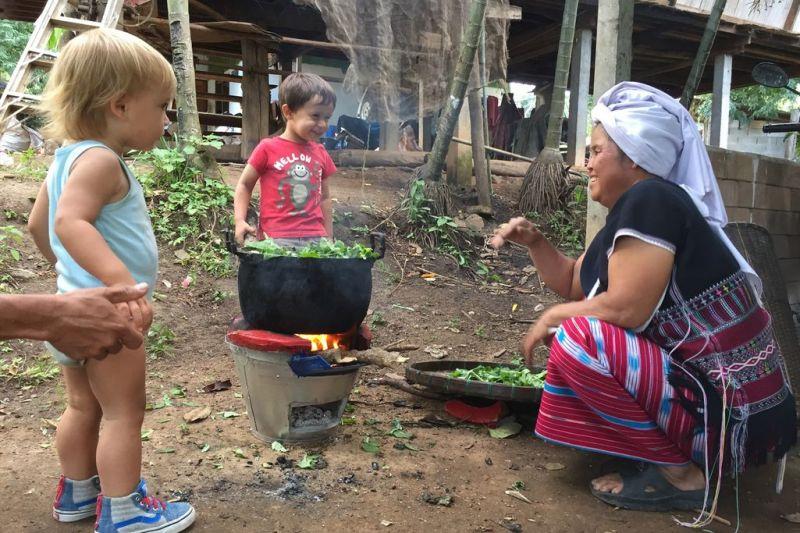 Foto de Ruta por Tailandia en Familia Cultura Karen