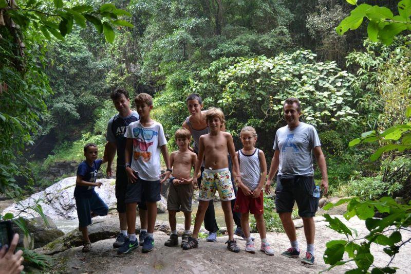 Foto de Ruta por Tailandia en Familia En la selva de excursion