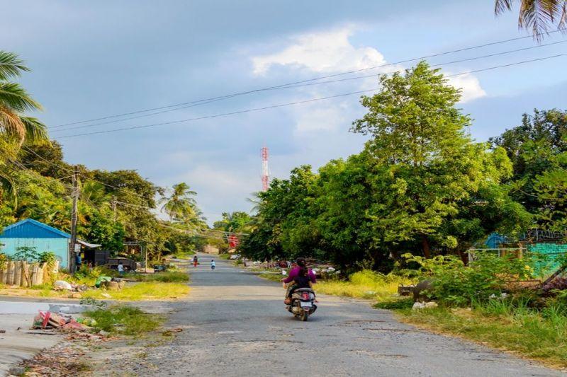 Foto de Ruta por Yoga y Aventura en Camboya Calle de aldea