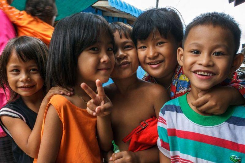 Foto de Ruta por Yoga y Aventura en Camboya Niños de Camboya