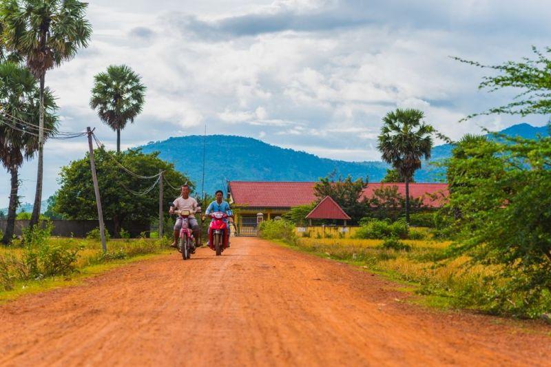 Foto de Ruta por Yoga y Aventura en Camboya Paisaje rural de Camboya