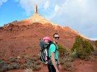 Viaje a Jordania - Paseando con el niño