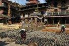 Viaje a Nepal - Mercado de Bhaktapur