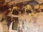 Viaje a Georgia - Frescos en la iglesia de Davit Gareja
