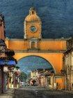Viaje a Guatemala - Calle de Antigua