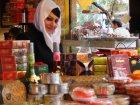 Viaje a Iran - Vendedora en el bazar