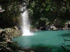 Viaje a Costa Rica - Cascada en la cordillera de Tilarán