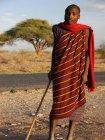 Viaje a Tanzania - Joven Masai