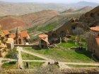 Viaje a Georgia - Vistas del complejo monástico de Davit Gareja