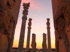 Viaje a Iran - Persépolis al atardecer