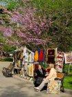 Viaje a Georgia - Mercadillo de pinturas en Tbilisi