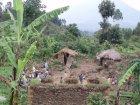 Viaje a Congo - Poblado pigmeo
