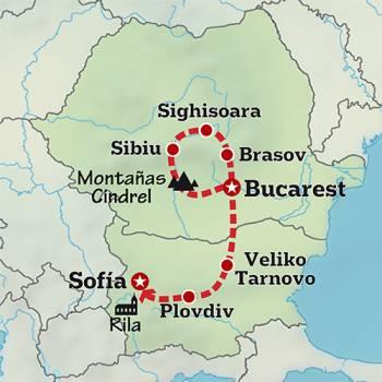 Mapa de Corazón del Este