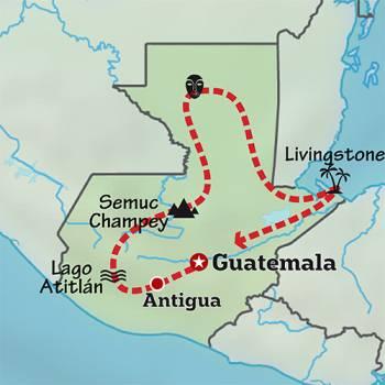 Mapa de Corazón Maya