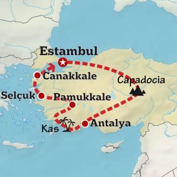 Mapa de El Reino de Anatolia
