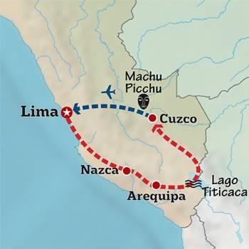 Mapa de Exaltación Andina