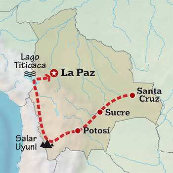 Mapa de La perla andina