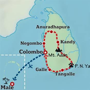 Mapa de Las joyas del Indico