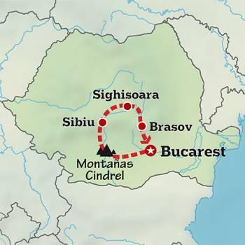Mapa de Los dominios de Drácula