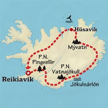 Mapa de Naturaleza Artica