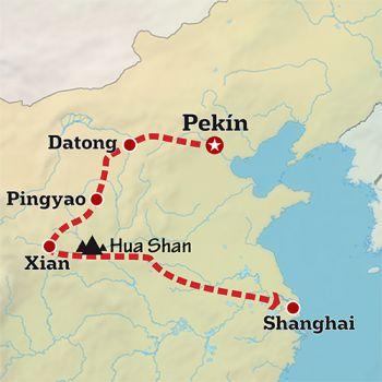 Mapa de Ruta de los Emperadores