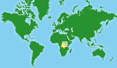 Mapa de Congo