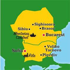 Mapa de Europa Del Este