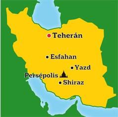 Mapa de Iran