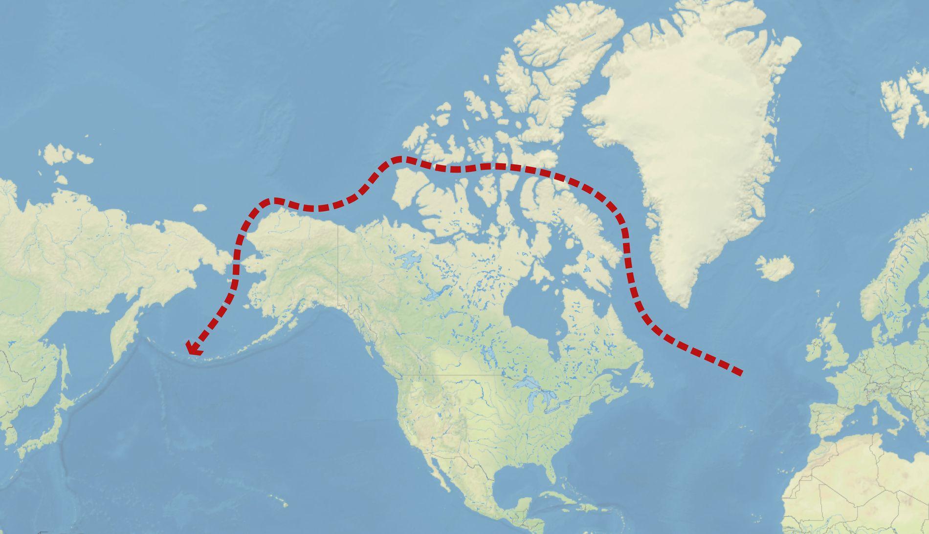 Ruta Paso del Noroeste